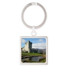 ross castle Square Keychain