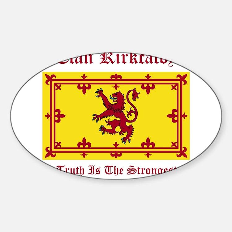 Kirkcaldy Sticker (Oval)
