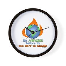 Global Awareness Wall Clock