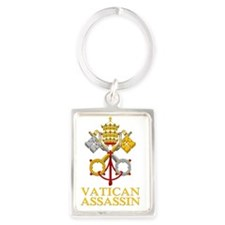 Vatican-Assassin Portrait Keychain