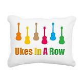 Ukuele Throw Pillows