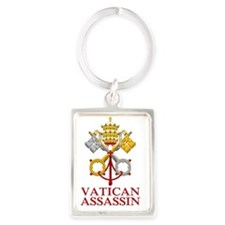 Vatican-Assassin-2 Portrait Keychain