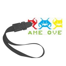 GameOver Luggage Tag