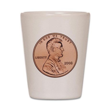 lincoln_penny_1000_01 request 2008 Shot Glass