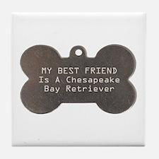 Friend Chessie Tile Coaster
