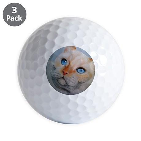 Aniksi ViaAppia Ifonas Cat Golf Balls