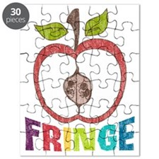 Fringe-APPLE RAINBOW2-DISTRESS Puzzle