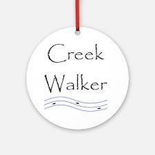 creekwalker1.gif Round Ornament