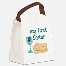 first-seder Canvas Lunch Bag