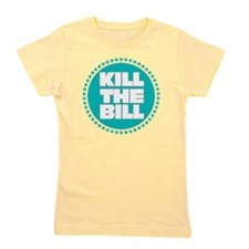 kill the bill aqua Girl's Tee