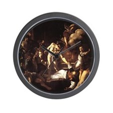 The Martyrdom of St Matthew Wall Clock