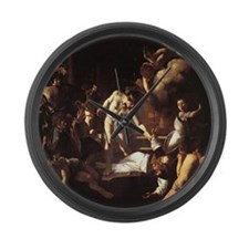 The Martyrdom of St Matthew Large Wall Clock