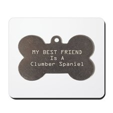 Friend Clumber Mousepad