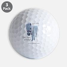 Petey Cut Out 2 Golf Ball
