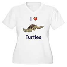I-love-turtles-ta T-Shirt