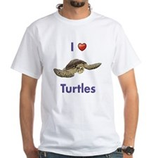 I-love-turtles-tall Shirt