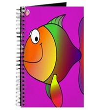 Happy_Fish_78_ipad_case_Purple Journal
