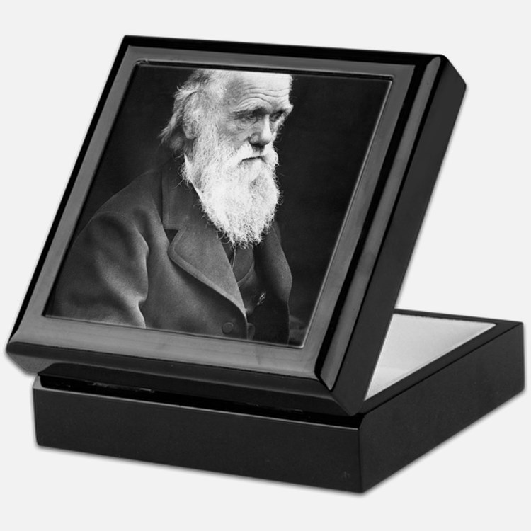 Darwin_mousematpng Keepsake Box