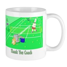thank you coach,tennis Mug
