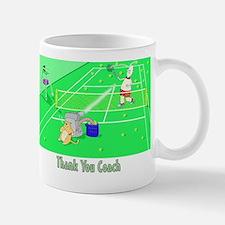 thank you coach,tennis Mug
