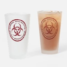 Zombie responder Drinking Glass