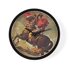 Jacques-Louis_David_Napoleon_ipad_78 Wall Clock