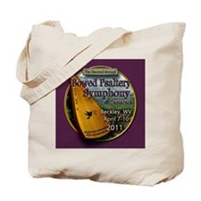 2011 Symphony button 25 note Tote Bag