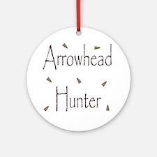 arrowheadhunter.gif Round Ornament