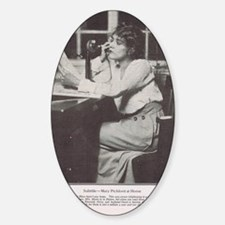 Mary Pickford 1916 Sticker (Oval)