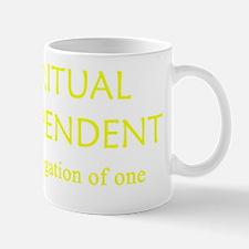 spiritual independent trans Mug