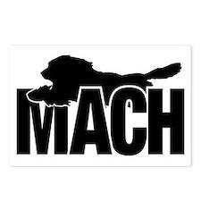 MachStickerBeardie Postcards (Package of 8)