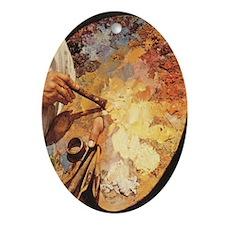 Oil_painting_palette_iPad_73_Slider  Oval Ornament