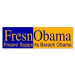 FresnObama (pro-Obama bumper sticker)