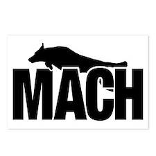 MachStickerBCSm Postcards (Package of 8)