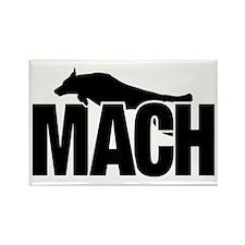 MachStickerBCSm Rectangle Magnet