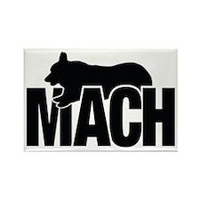 MachStickerCorgi Rectangle Magnet