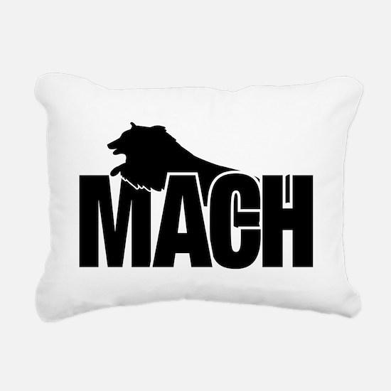 MachStickerSheltie Rectangular Canvas Pillow