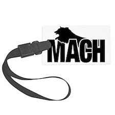 MachStickerSheltie Luggage Tag