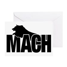 MachStickerSheltie Greeting Card