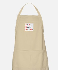 Let It Begin With Me BBQ Apron