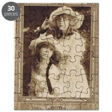 Lillian and Dorothy Gish 1917 Puzzle