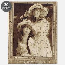 Lillian and Dorothy Gish 1917 Puzzle