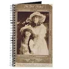 Lillian and Dorothy Gish 1917 Journal