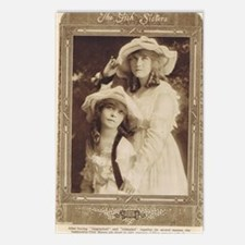 Lillian and Dorothy Gish  Postcards (Package of 8)
