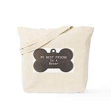 Friend Boxer Tote Bag