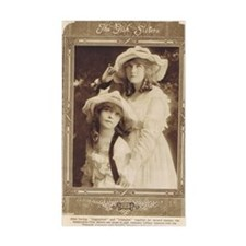Lillian and Dorothy Gish 1917 Decal