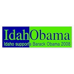 IdahObama (pro-Obama bumper sticker)