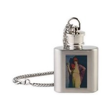 Betty Blythe 1918 Flask Necklace