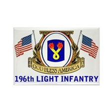 196th LIGHT INFANTRY Rectangle Magnet