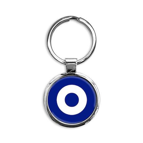 Greece Round Keychain
